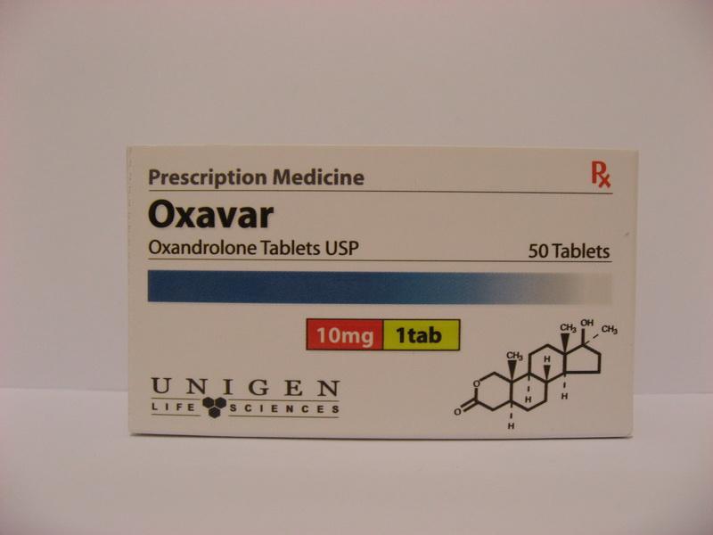 oxavar oxandrolone 10mg